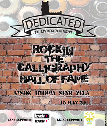 flyer_rockin' the calligraphy hall of fame