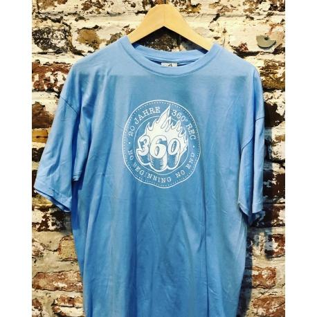 360 Records T-Shirt blau