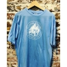 360 Records T-Shirt blau