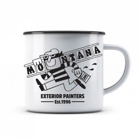 "Montana Enamel Mug ""EXTERIOR PAINTERS"""
