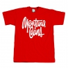 Montana Cans Shapiro T-Shirt red