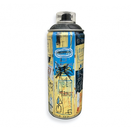 MTN Limited Edition 400ml - Jean-Michel Basquiat - Matt Black