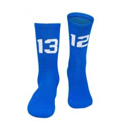 SIXBLOX. 1312 Socken blue/white