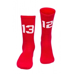 SIXBLOX. 1312 Socken red/white