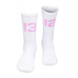 SIXBLOX. 1312 Socken White/Rosa