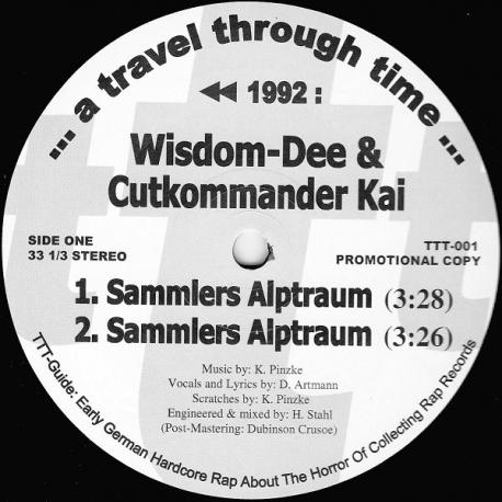 "Wisdom-Dee & Cutkommander Kai - Sammlers Alptraum 12"""