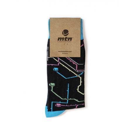 MTN SOCKEN Metro Black