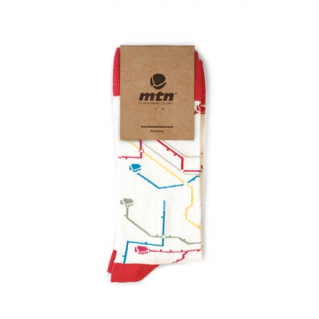 MTN SOCKEN Metro White