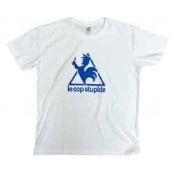 Le Cop Stupide T-Shirt white