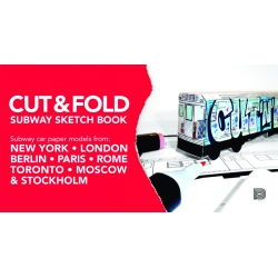Cut & Fold Subway Sketchbook Buch