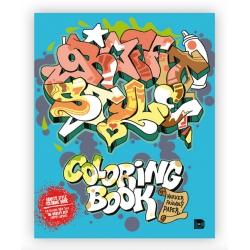 Graffiti Style Coloring Book Malbuch