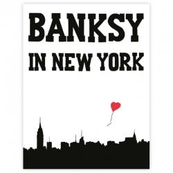 Banksy in New York Buch