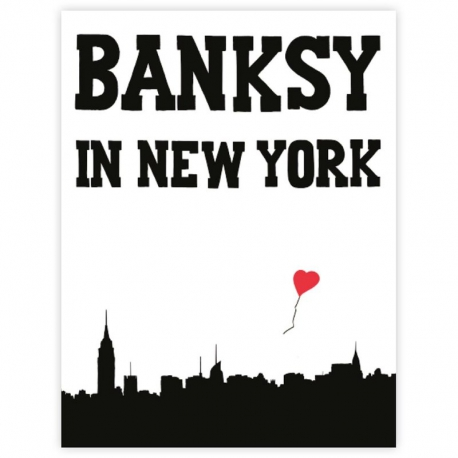 Banksy in New York Buch