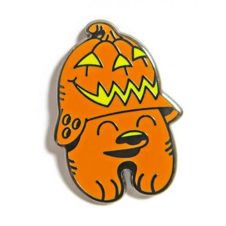 FLYING FÖRTRESS Pumpkin Trooper Pin