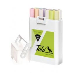 Toki Marker Marker 12er Set Pastel