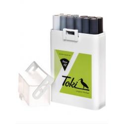 Toki Marker Marker 12er Set Grey