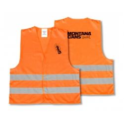 Montana Reflektor Weste Orange