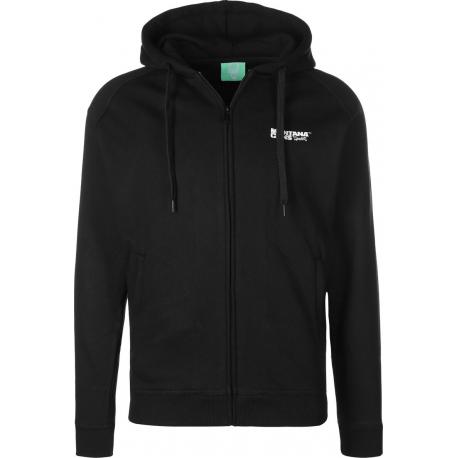 Montana Logo Hooded Zipper black