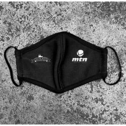 MTN X Dedicated Facemask black