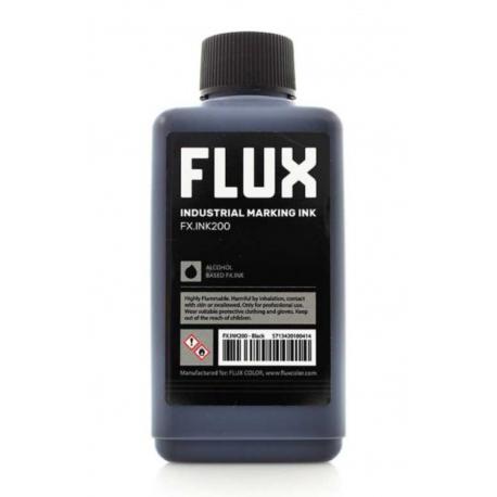 Flux Refill Industrial Marking Ink FX.INK200 - 200ml Black Iink