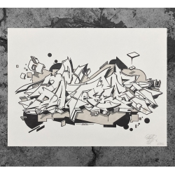 Dater 127 STYLE CONSTRUCTION Letterpress Print