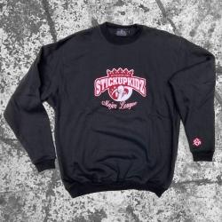Stick Up Kidz Major League Sweater black