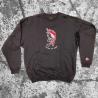 Stick Up Kidz Major Flameskull 2 Sweater black