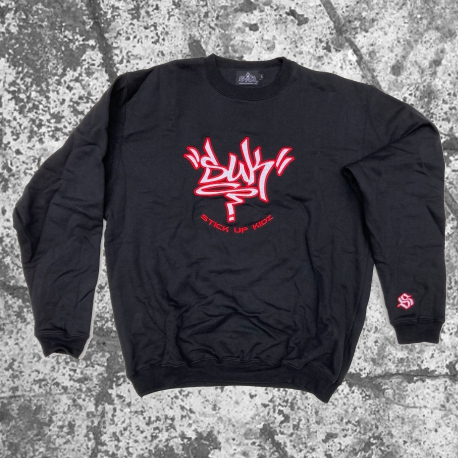 Stick Up Kidz SUK Tag Sweater black