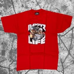Stick Up Kidz B Boyz 4 LifeT-Shirt Red