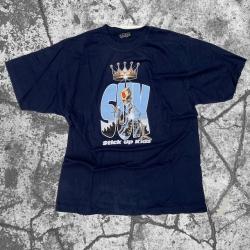 Stick Up Kidz Skull Can T-Shirt Blue