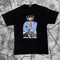 Stick Up Kidz Skull Can T-Shirt Black