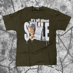 Stick Up Kidz Style T-Shirt Green