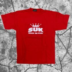 Stick Up Kidz SUK Crown T-Shirt red