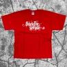 Stick Up Kidz Calligraphy T-Shirt Light Red