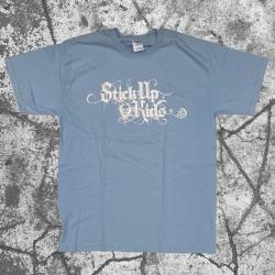 Stick Up Kidz Calligraphy T-Shirt Light Light Blue