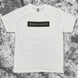 20ACAB21 T-Shirt Black