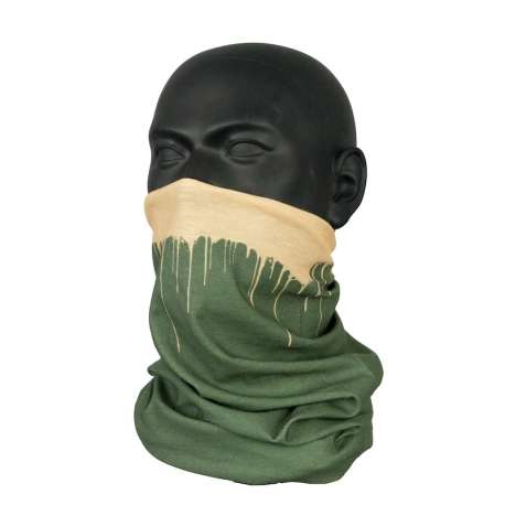 Inflava DRIPS Tube Scarf Green