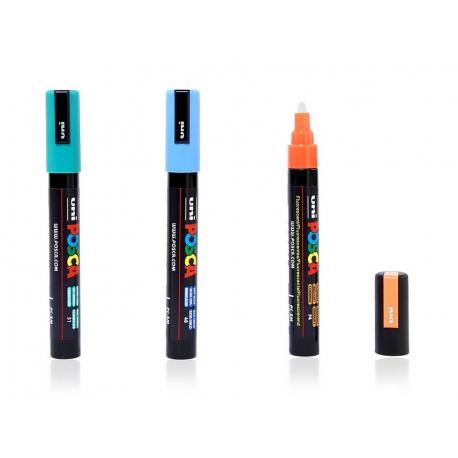 Uni Posca Marker PC - 5M - 42 Farben