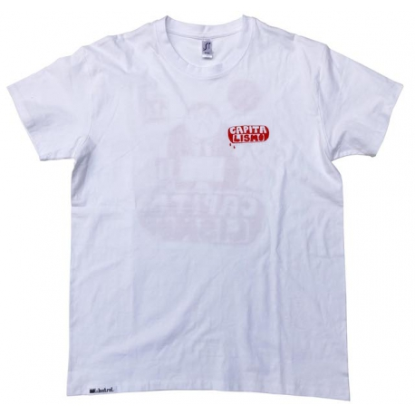 Wastrel Capitalismo T-Shirt white