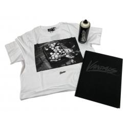 Nils Müller's VANDALS Exclusive Bundle Buch/T-Shirt/Sprühdose