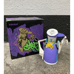 Kidrobot x East3 Mugsy Spraycan Vinyl Figur