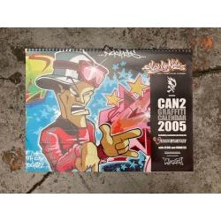 SUK Graffiti Calender 2005