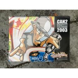 SUK Graffiti Calender 2003