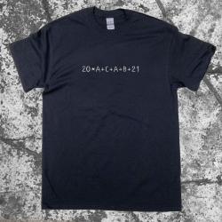 20ACAB21 Sternsinger T-Shirt Black