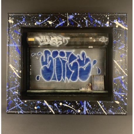 M.FLY NYC Door Original Artwork
