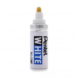 PENTEL X100W Marker WHITE 2,9mm Rundspitze