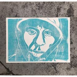 Nora Schwabe MOS DEF Linol Print