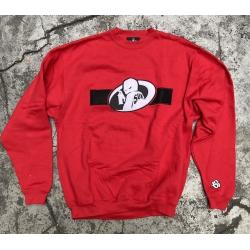 Stick Up Kidz Sprayer Sweater Red Größe L