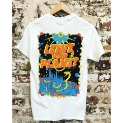 Zappel Leave your planet T-Shirt white