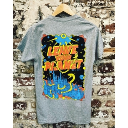 Zappel Leave your planet T-Shirt grey